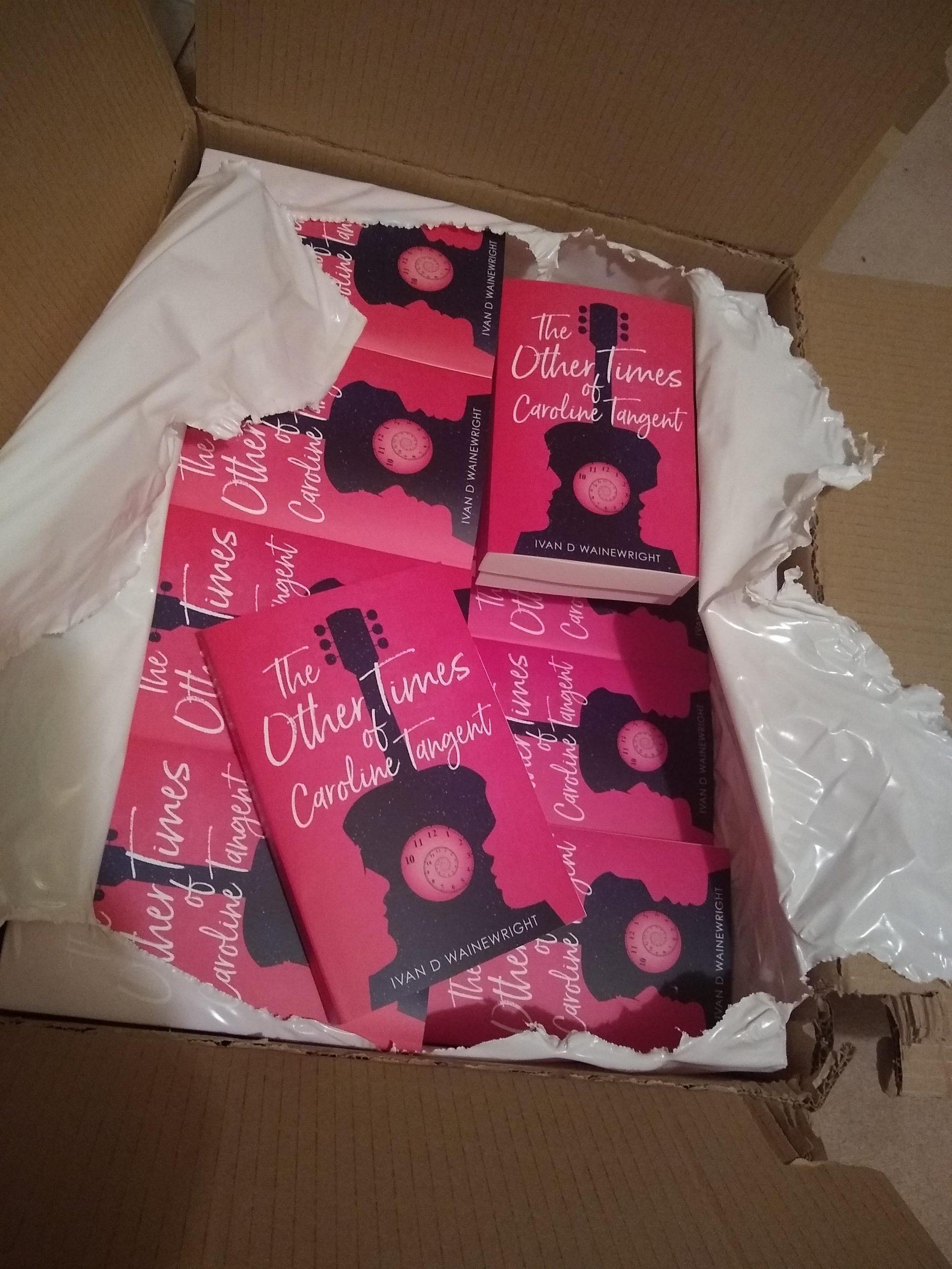 Paperbacks of Caroline Tangent Arrive!