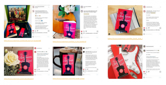 The Instagram Photos From My Novel's Blog Tour